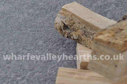 Flamed Granite Hearths for Stoves