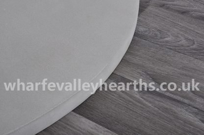 Grey Sandstone Hearth Close Up