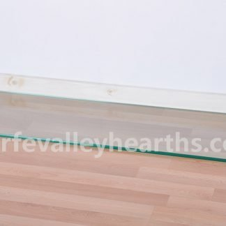 Inset Clear Glass Hearths