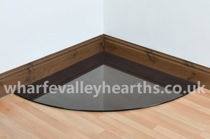 Quadrant Smoked Glass Hearths
