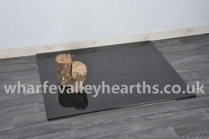 Rectangle Smoked Glass Hearth