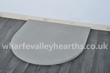 Semi Circle Grey Sandstone Hearth