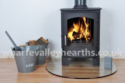 Semi Circular Glass Hearth