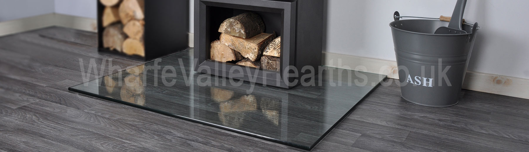 Rectangle Glass Hearth