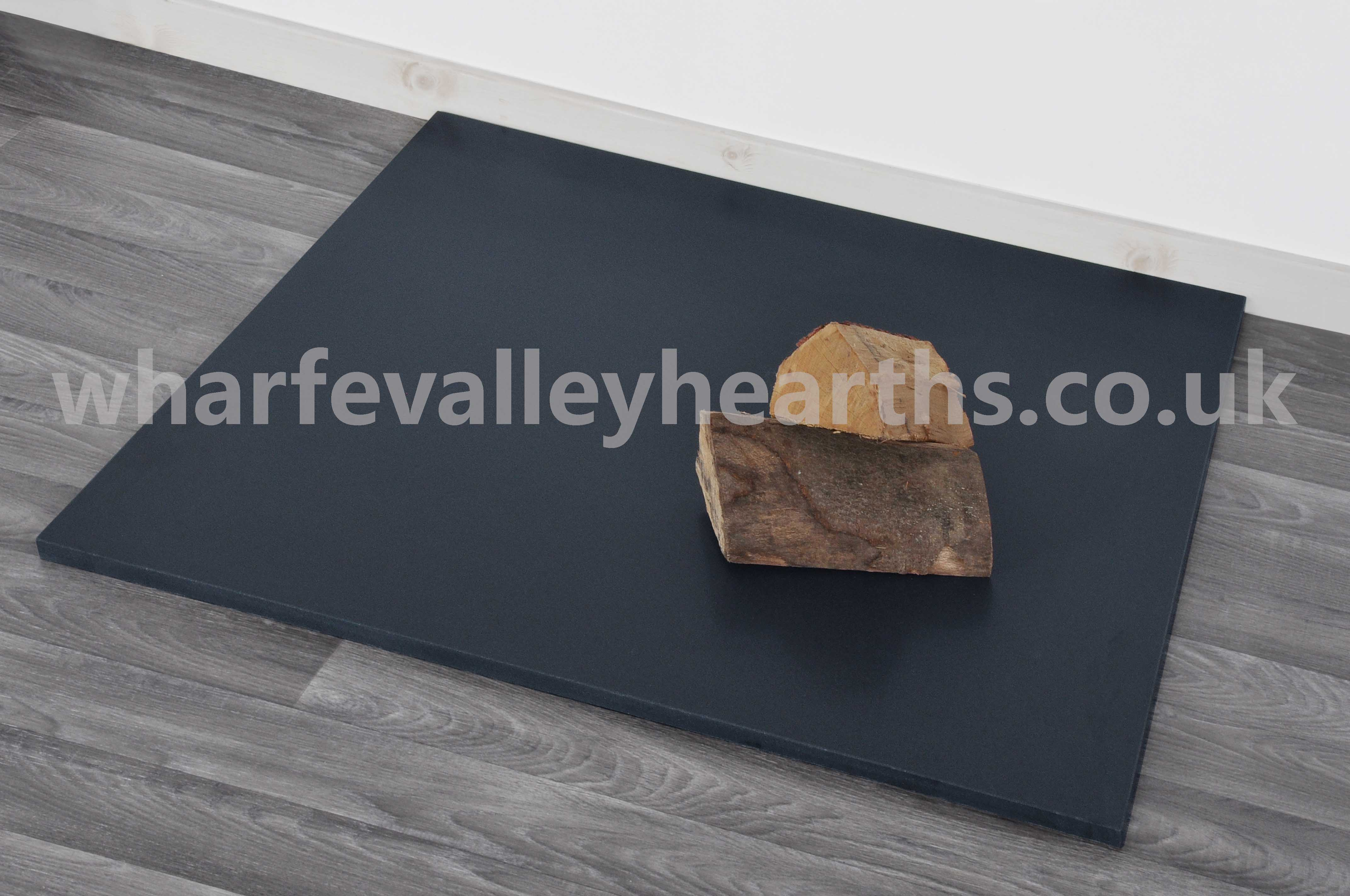 Square Honed Granite Hearth Wharfe Valley Hearths
