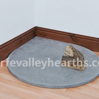 Blue Stone Teardrop Hearth