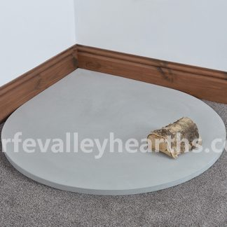 Teardrop Grey Stone Hearth