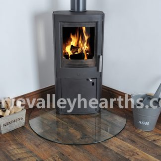 Teardrop Clear Glass Hearths