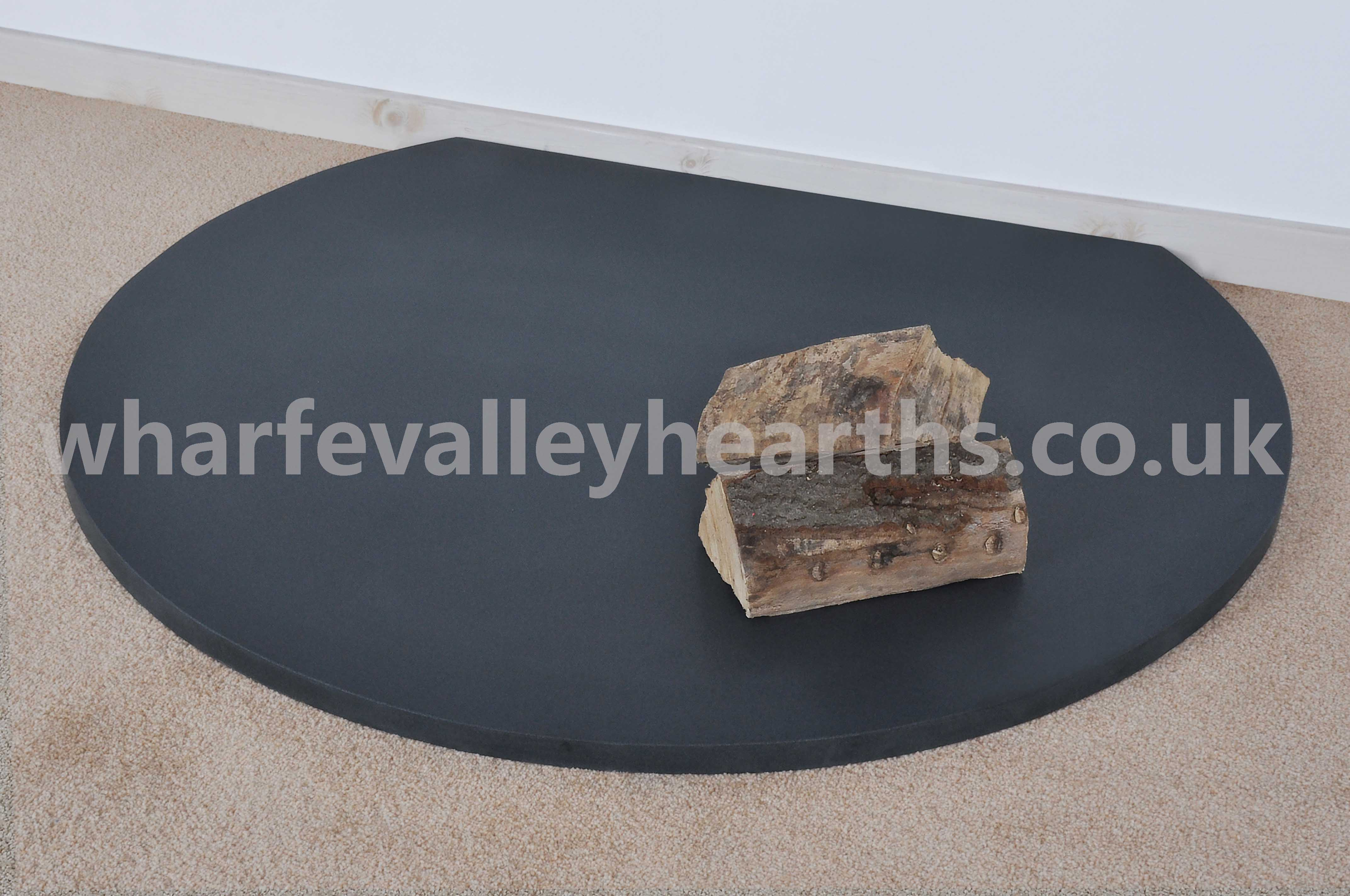 Truncated Honed Granite Hearth Wharfe Valley Hearths