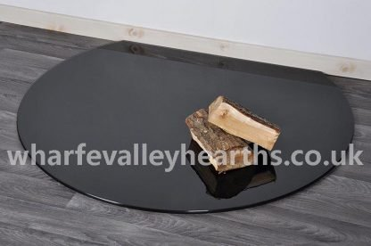 Truncated Black Glass Hearth