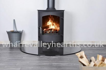Truncated Smoked Glass Hearth 2