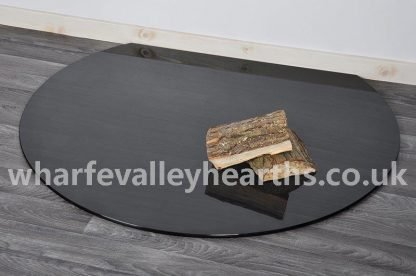 Truncated Smoked Glass Hearth 3